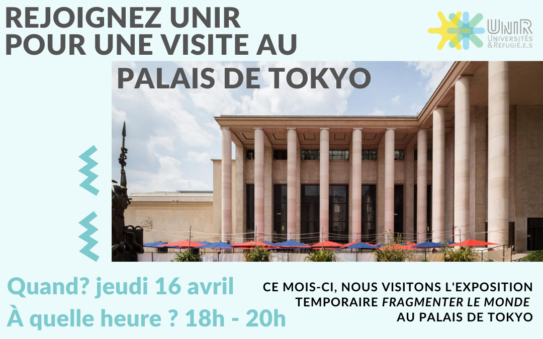 Visite palais de tokyo 16 avril