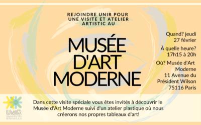 Visite Musée d'Art Moderne 27 février