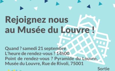 Visite Musée du Louvre 21 septembre