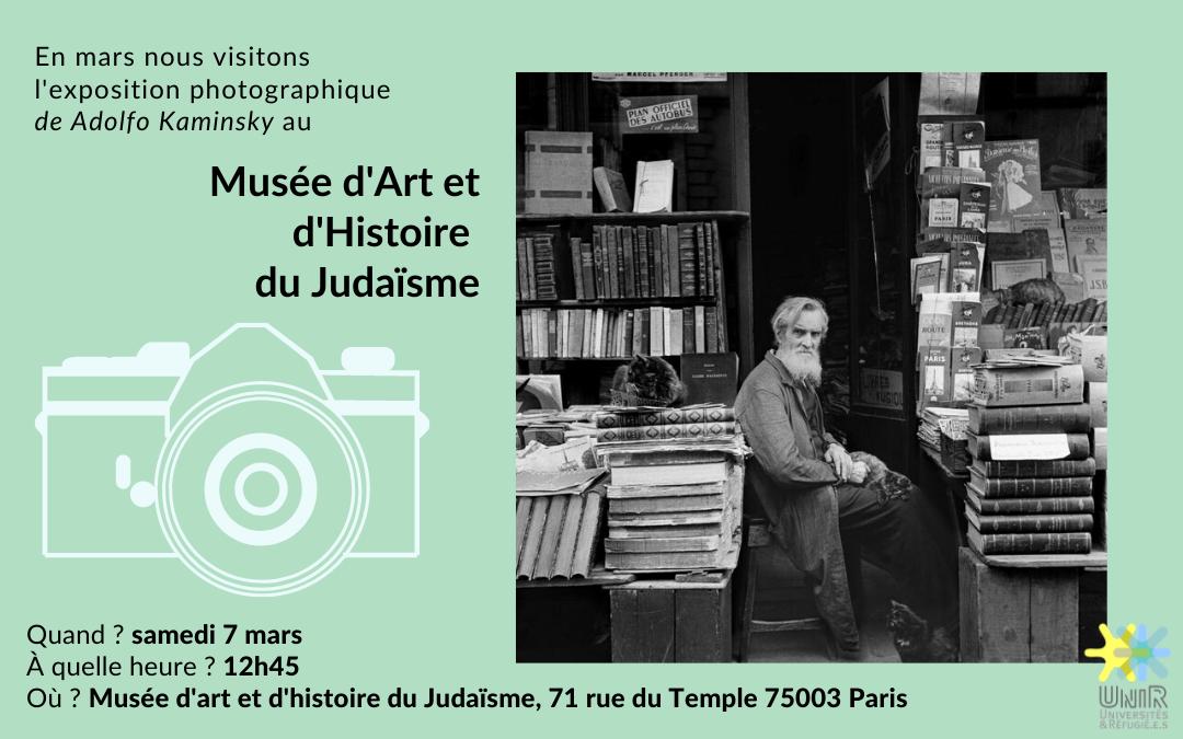 visite Musée d'Art et d'Histoire du Judaïsme 7 mars