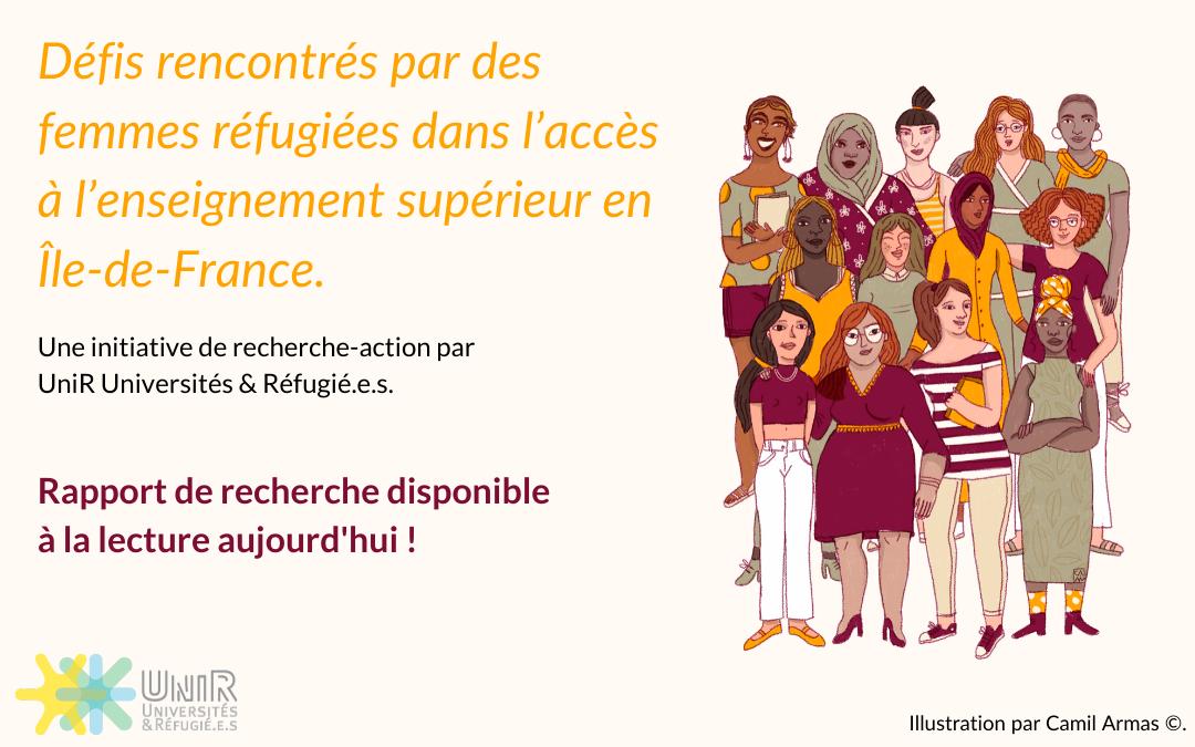Les femmes réfugiées surmontent les défis de l'insertion socio-économique en Île-de-France