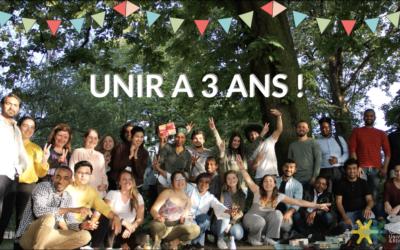 UniR a 3 ans ! (vidéo)