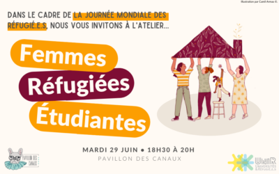 Atelier « Femmes, réfugiées et étudiantes » 29 juin