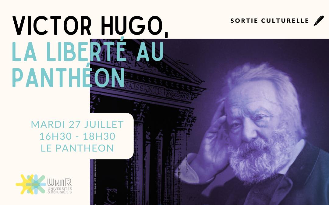 Visite Panthéon 27 juillet