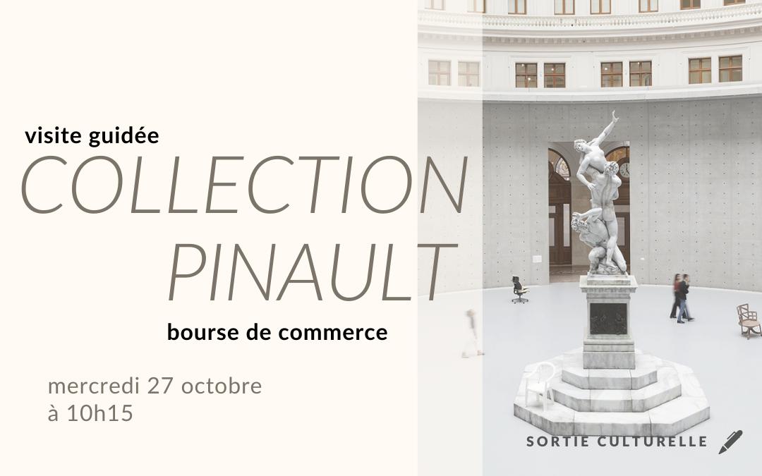 Visite à la Bourse de Commerce – Collection Pinault 27 octobre